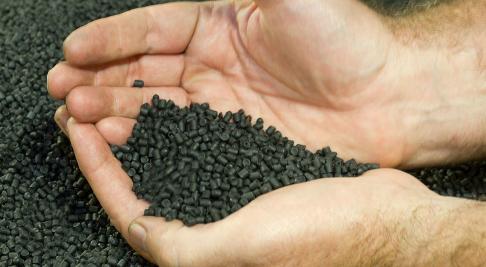 Recycled Black Pellets